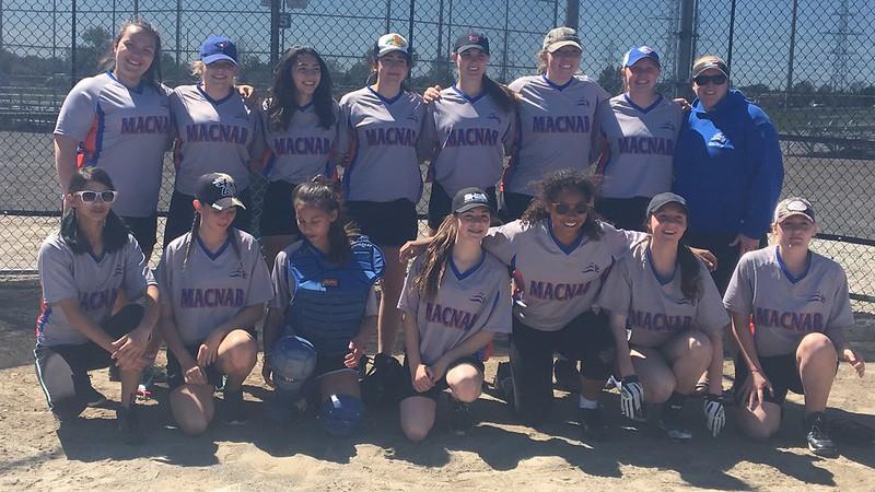 2016-17 Girls Slo-Pitch Championship