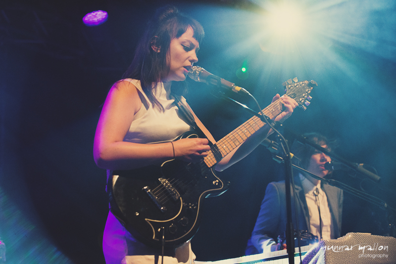 Angel Olsen performing solo at Rock City, Nottingham