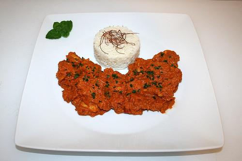 59 - Chicken Makhani - Served / Serviert