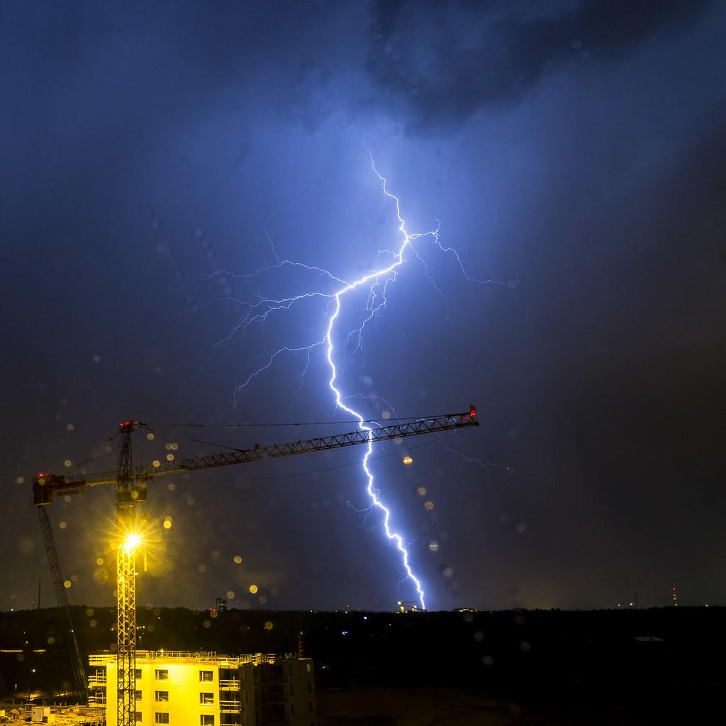 May lightning