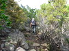 Le chemin au retour avec Michel vers le pont de Figa