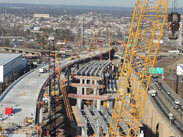 Goethals Bridge Replacement Project - Progress - December 2016