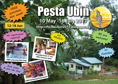 Pesta Ubin 2017 poster: this week 12 - 18 Jun