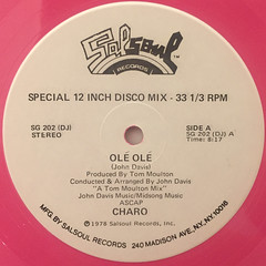 CHARO:OLE OLE(LABEL SIDE-B)