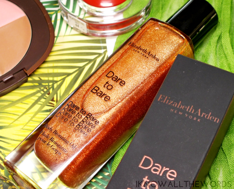 elizabeth arden tropical escape dare to bare body bronzing oil (1)