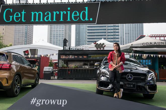 台灣賓士特別邀請到再度問鼎金曲獎的嘻哈皇后Miss Ko葛仲珊參與「Grow Up. 像你的樣」大製作微電影。