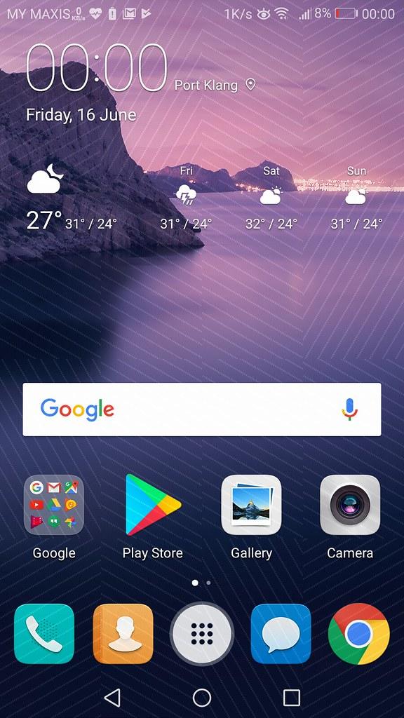 Huawei P10 Lite User Interface