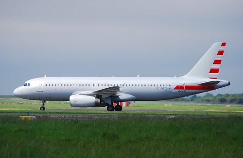 N672AW A320 Ex American A/L