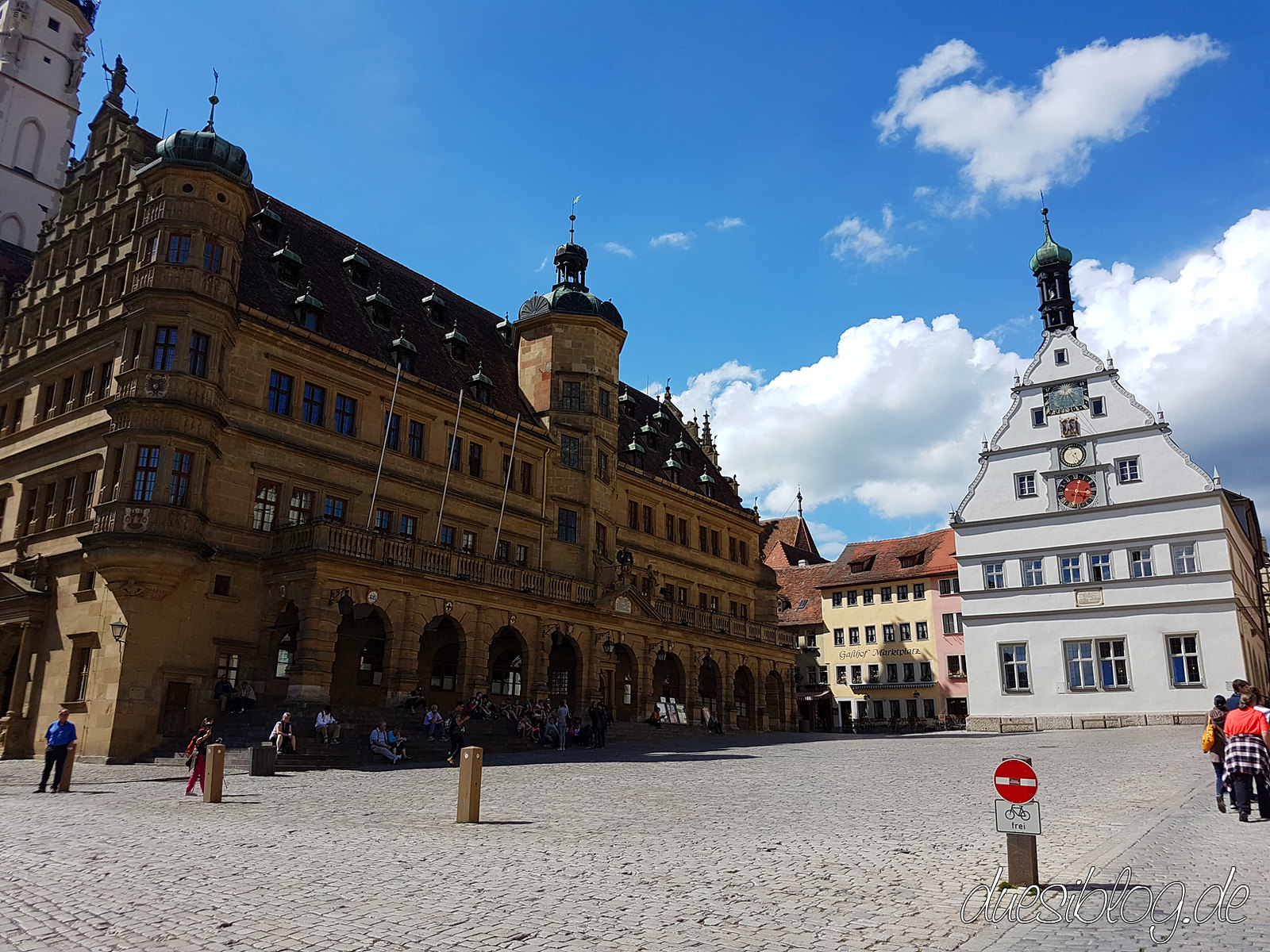 Rothenburg ob der Tauber Rathaus townhall duesiblog 07