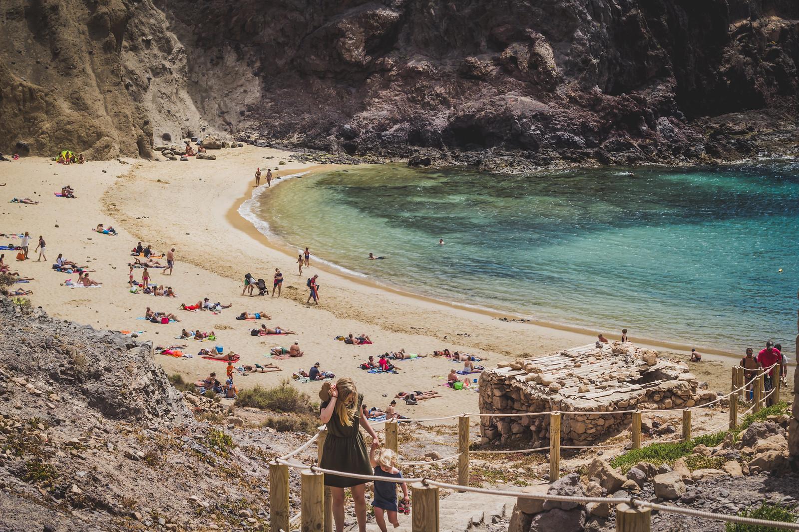 Lanzarote, Playa de Papagayo
