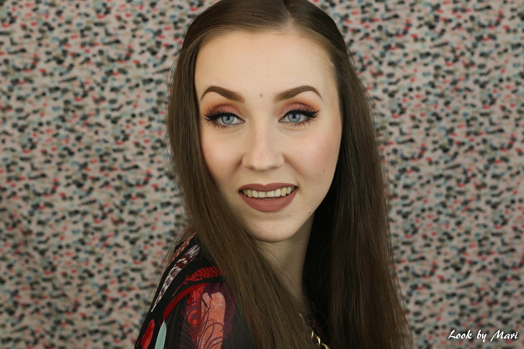 1 graduation prom makeup look tutorial ideas inspiration warm tone toned tones blog