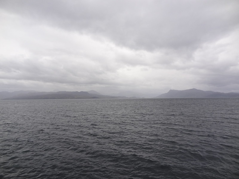 Looking across the Sound of Sleat from Armadale