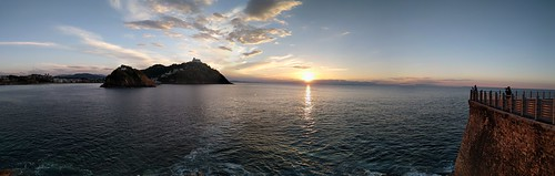 Sunset - San Sebastian, Spain