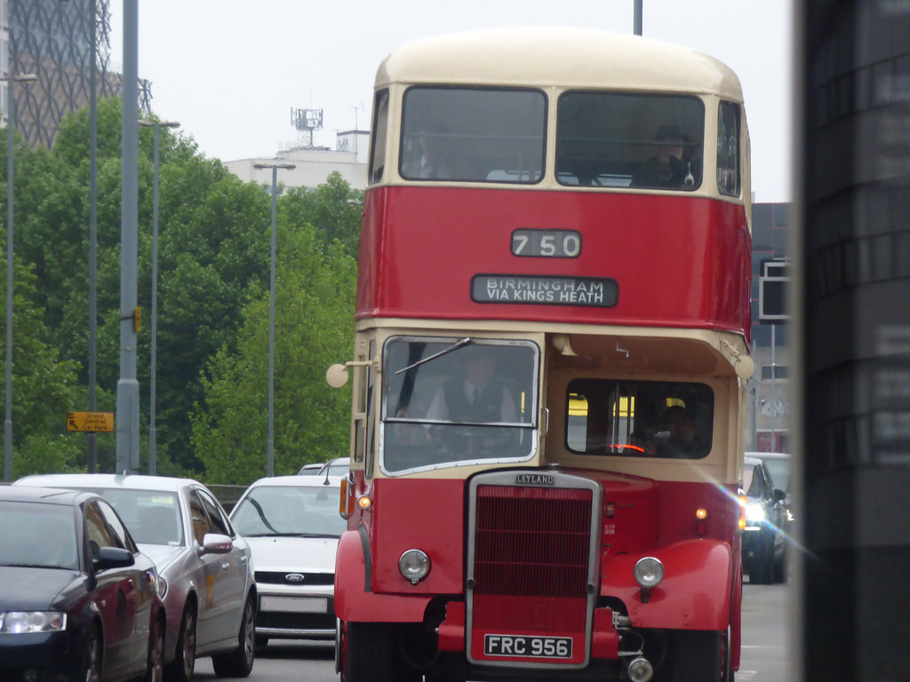 Suffolk Street Queensway Heritage Bus From Wythall Trans