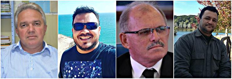 Holofotes em 4 VIPs. Fredison, Elinelson, Emir Aguiar e Jailson Alves