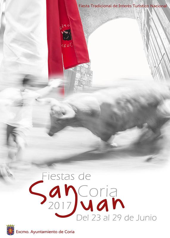 Cartel de las Fiestas de San Juan 2017