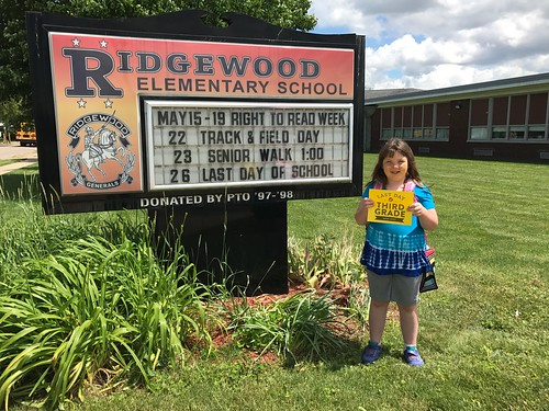 Lucy's last day of elementary school | by My Mommys Place