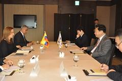 Ministra Lacouture pide a Corea y Japón mejor acceso a productos agropecuarios