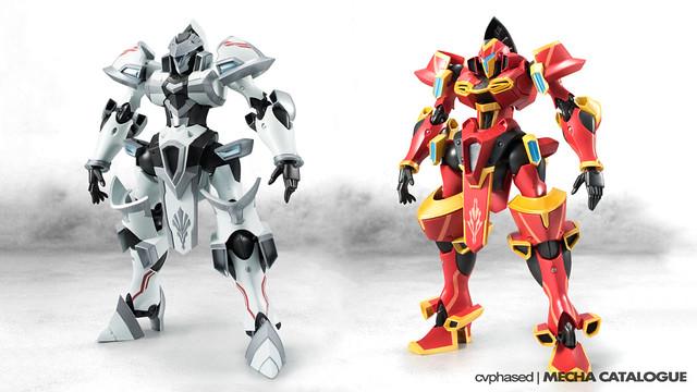 """Knight's & Magic"" - ROBOT Damashii TRI"