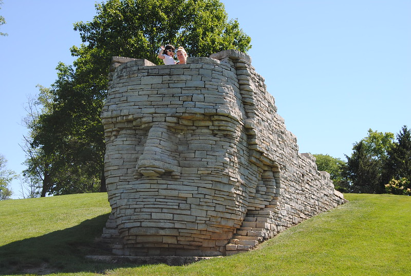 Chief Leatherlips, Scioto Park, Dublin, Ohio