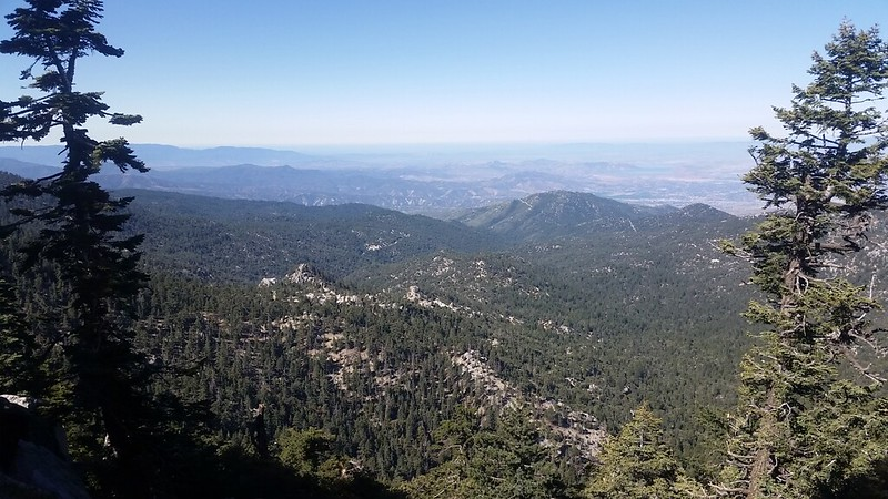 Great views from the PCT on the Fuller Ridge Trail