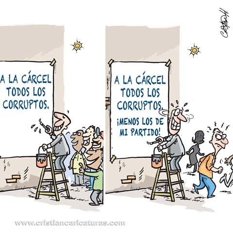 Contra los corruptos