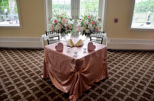 Flourtown Country Club Wedding - Sweetheart Table