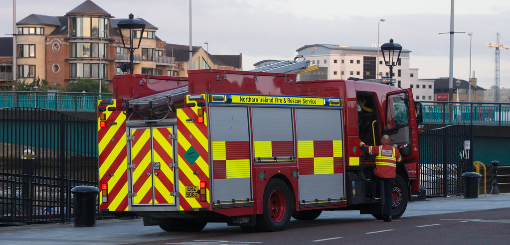NORTHERN IRELAND FIRE AND RESCUE SERVICE IN BELFAST 004