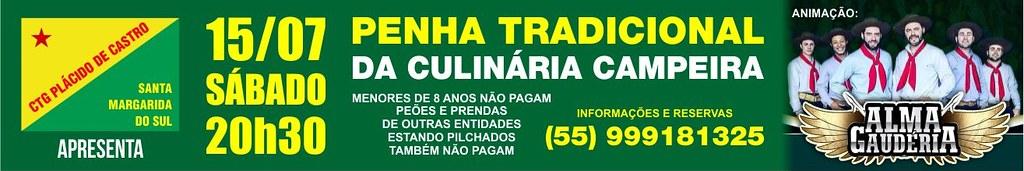 Anúncio Penha Culinária Campeira - CTG Plácido de Castro
