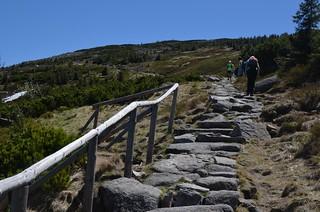 Wanderung von Szklarska Poreba aus im Riesengebirge