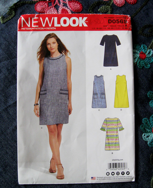 New Look Shift dress pattern