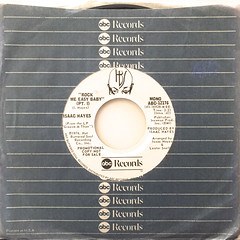 ISAAC HAYES:ROCK ME EASY BABY(JACKET A)