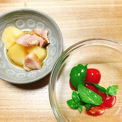 寿司屋の賄い飯『ブロックベーコンとジャガイモの煮物』