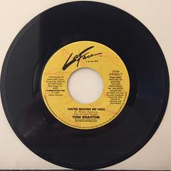 TONI BRAXTON:YOU'RE MAKIN' ME HIGH(RECORD SIDE-A)