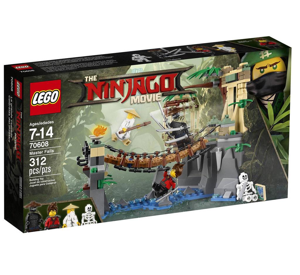The LEGO Ninjago Movie 70608 - Master Falls