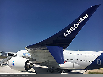 Airbus A380plus winglets (Airbus)
