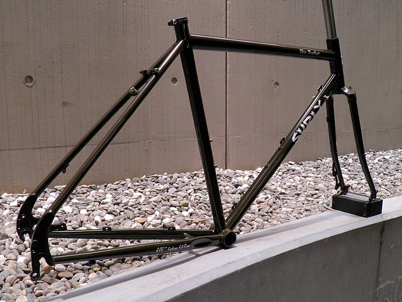 SURLY DISC TRUCKER FRAME FORK BROWN PAINTED 03