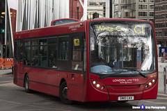 Alexander Dennis Enviro 200 - SN10 CAV - DE93 - White City C1 - London United RATP Group - London 2017 - Steven Gray - IMG_9288
