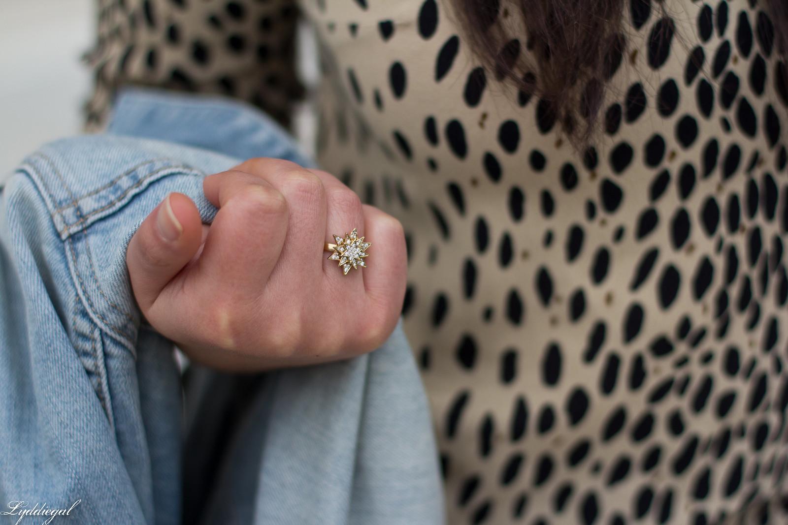 leopard blouse, grey jeans, denim jacket, fringe bag-7.jpg