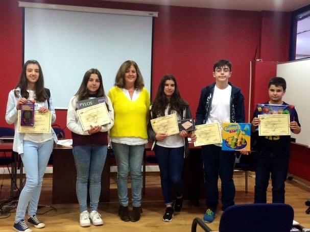Premios del XX Concurso Matemático. IES Mata Jove. 2015