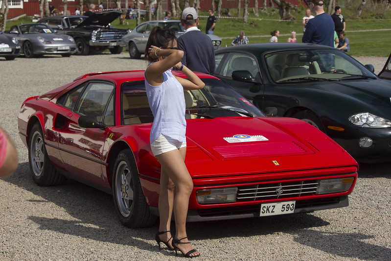 The Model and the Ferrari