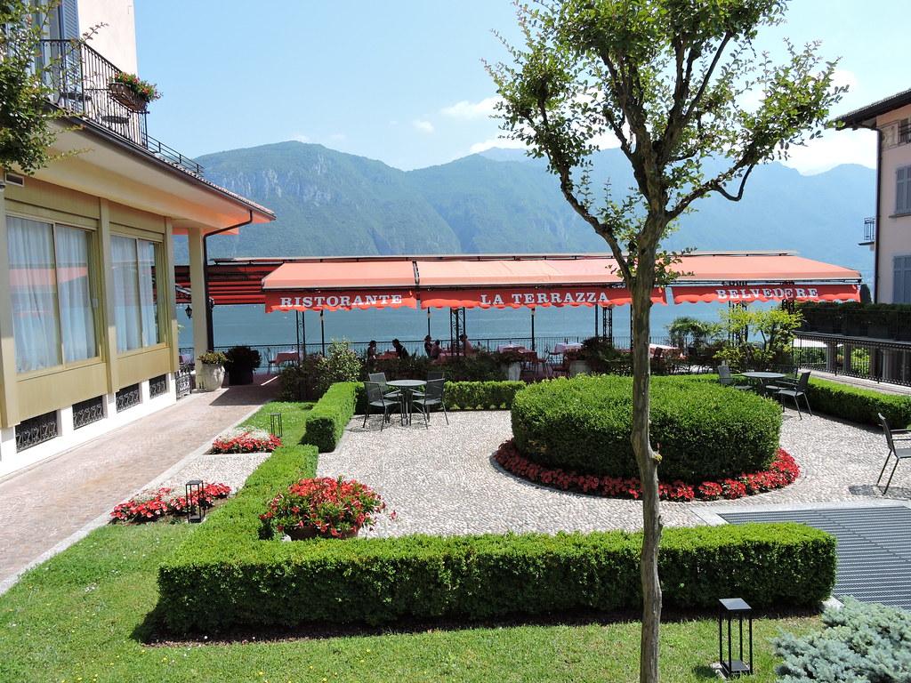La Terrazza Ristorante at the Hotel Belvedere, Lake Como, … | Flickr