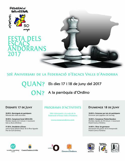 2017 Festa Escacs Andorrans