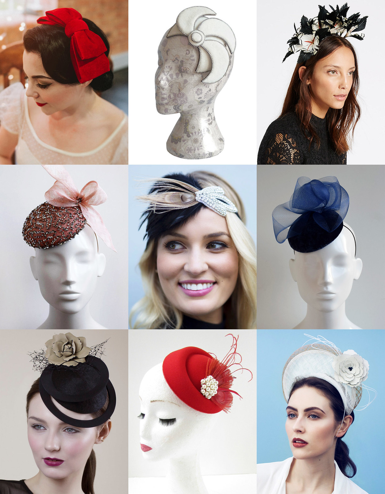 34 Modern Wedding Guest Hats and Fascinators - Fascinators