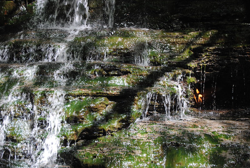 Eternal Flame Falls Trail, Orchard Park, New York