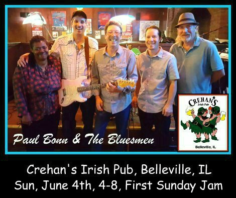 Paul Bonn & The Bluesmen 6-4-17