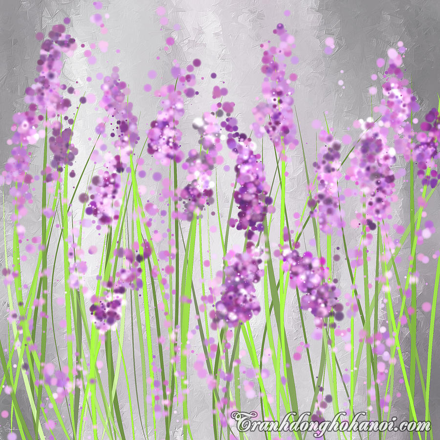Hinh anh sac hoa day song dong trong buc tranh ve hoa oai huong