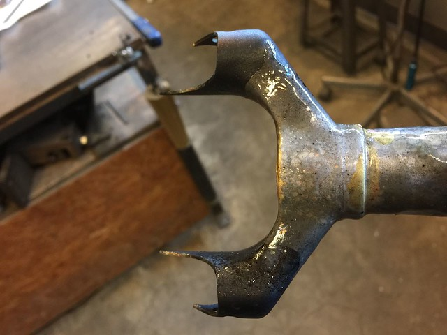 Crown brazing