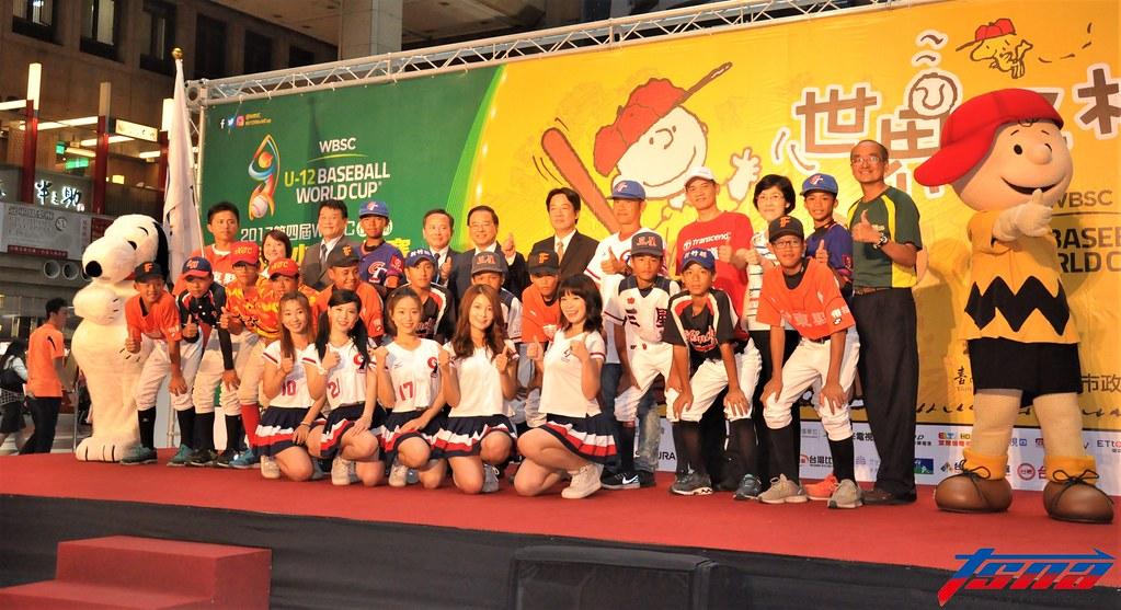 U12世界盃棒球賽將於7月在台南開打。(張哲郢/攝)