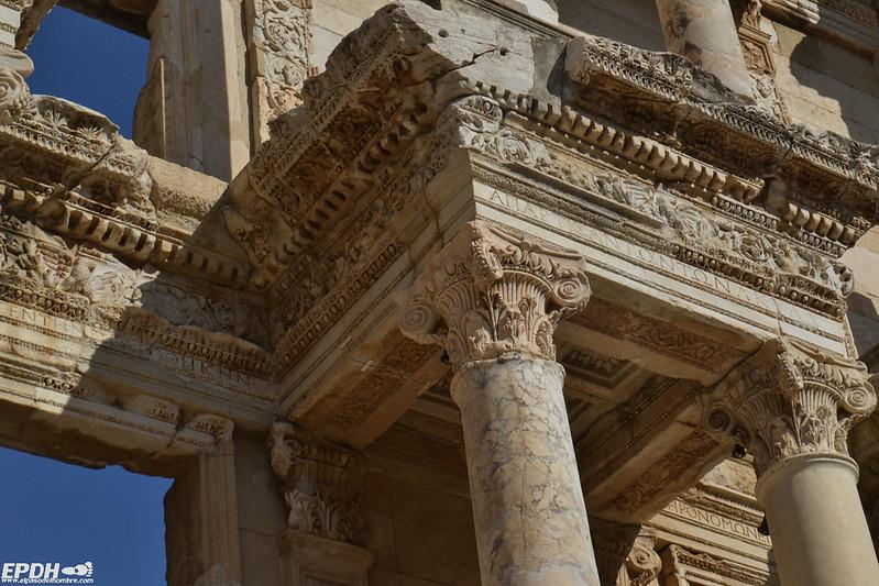 Detalle de la Biblioteca de Celso